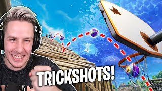 Unmögliche BASKETBALL TRICKSHOT Challenge in Fortnite