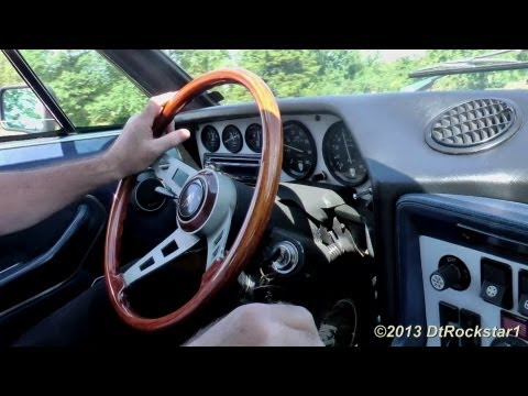 Lamborghini Espada ride