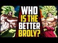 - Dragon Ball Z Broly VS Dragon Ball Super Broly: WHO Is The BETTER BROLY?