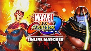 NICE TRY, CAPTAIN MARVEL: Marvel Vs. Capcom Infinite - Online Matches