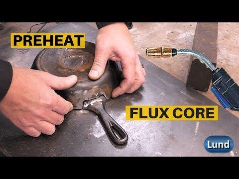 Cast Iron Welding Repair using Flux Core Wire