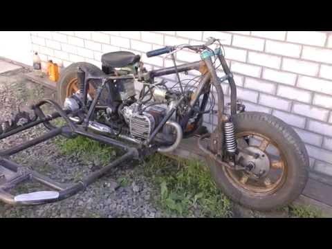 Ч 11. Мотоцикл из запчастей.Первая поездка Днепр-12 (К-750)