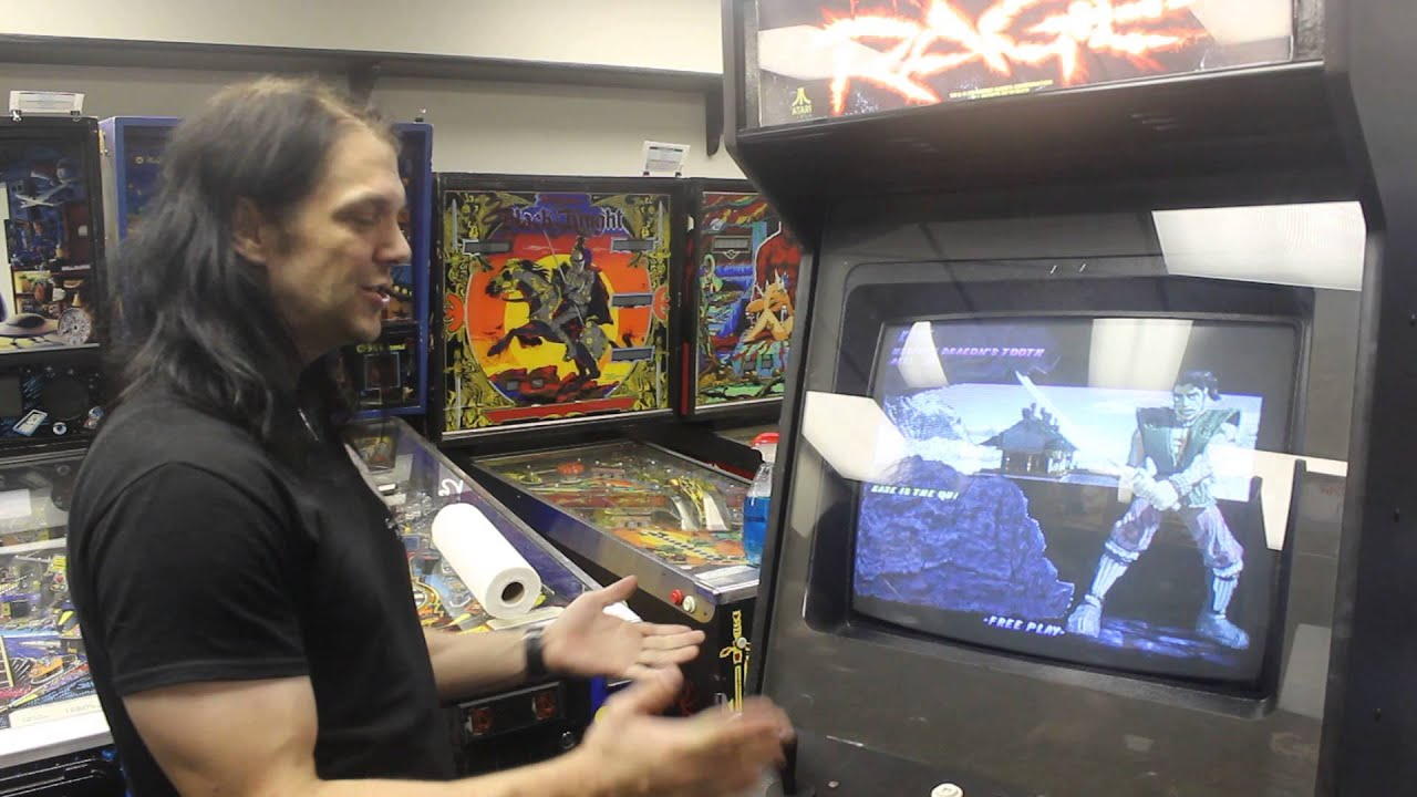 Primal Rage 2 at The Galloping Ghost Arcade - YouTube