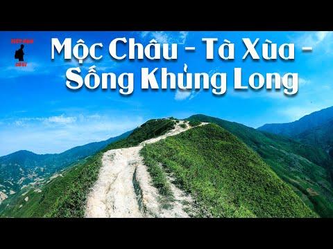 MỘC CHÂU SƠN LA VÀ CON ĐƯỜNG ĐẾN TÀ XÙA, SỐNG KHỦNG LONG P1| Du Lịch Sơn La| Cung Phượt Miền Bắc