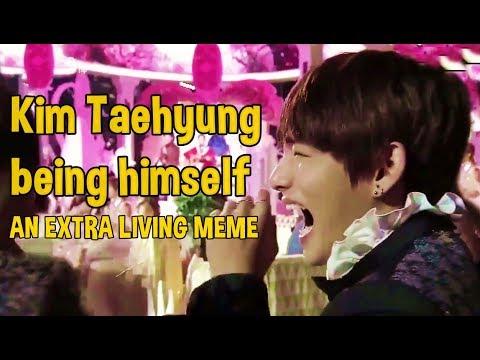 Kim Taehyung being himself #GUCCIBOY