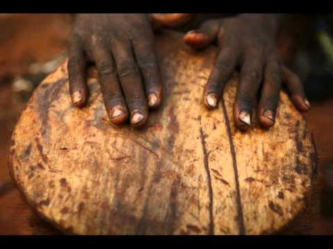 African Congo Drum Music