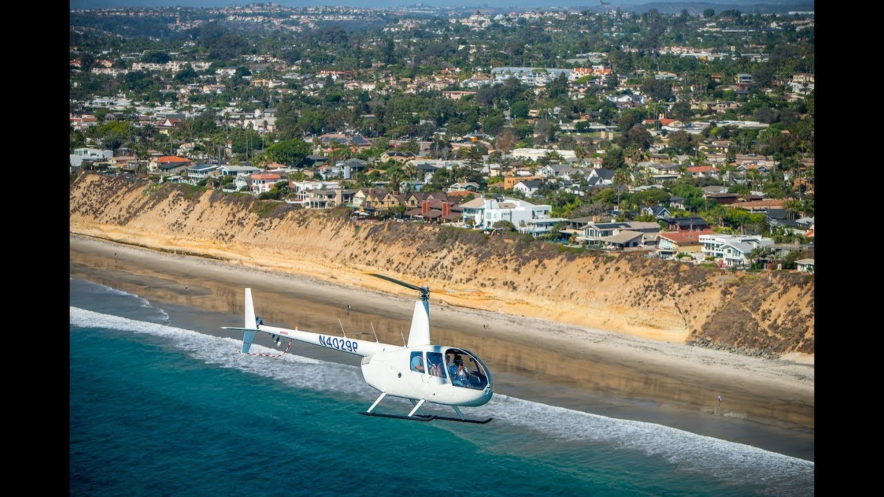 ULTRA-LUXURY COASTAL HELICOPTER tour of LA JOLLA, CA