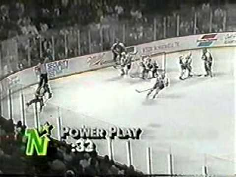 NHL 1991, Game 1 - Minnesota North Stars vs Chicago Blackhawks