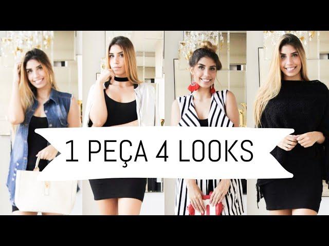4 Looks, 1 Peça: Vestido Preto | STHE GONTIJO