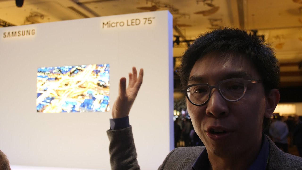 Samsung Unleash Massive 219 Inch The Wall 75 Inch Micro Led Tv