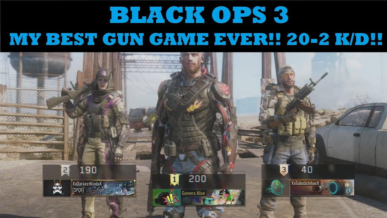 Black Ops 2 is the BEST CoD GAME EVER!!! - YouTube