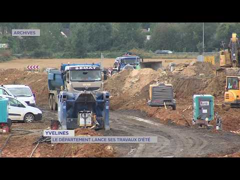 Yvelines : le département lance ses travaux d'été