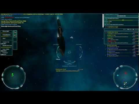 Vendetta Online Attacking a Player Cappie
