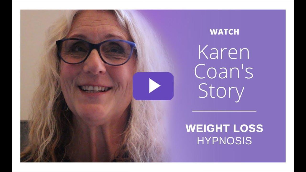 Weight Loss Hypnosis Near Me - Watch Karen C 's story