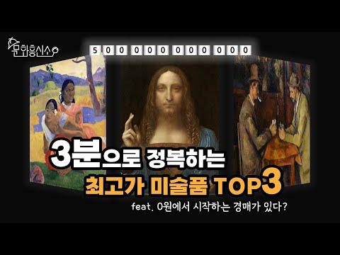 [문화흥신소] 3분으로 알아보는 세상에서 가장 비싼 미술품 TOP