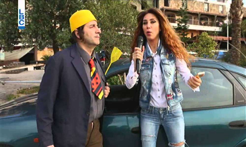 Ktir Salbe Show - Episode 68 - أبو عزيز و مسابقة المسبّات