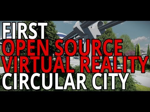 Virtual Reality Tour of a Circular City in Stingray Engine