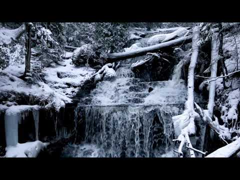 Winter at Wagner Falls in the Upper Peninsula