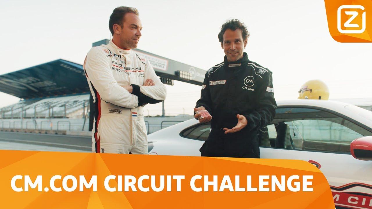 Illusies met 𝟐𝟕𝟎 𝐤𝐦/𝐮𝐮𝐫! 🃏😵💫 | CM.com Circuit Challenge | Ziggo Sport