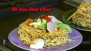 Mì Xào Giòn Chay - Xuân Hồng (Lửa Hồng Cooking Show)