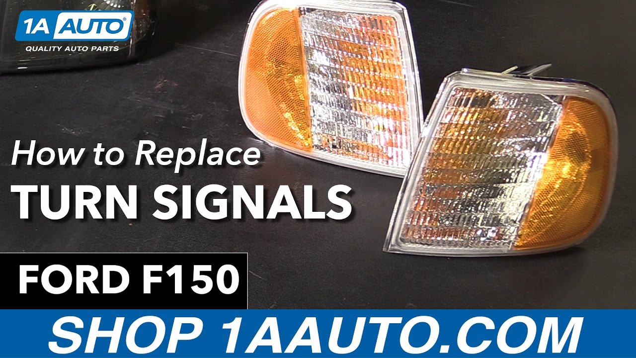 How To Replace Turn Signals 98-00 Ford F150