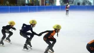 2014 SG Nationals Short Track Speed Skating 333m Pony Boys