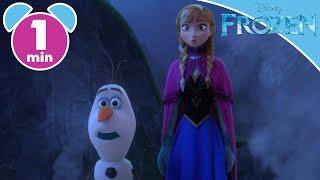 Frozen | Anna and Olaf Meet The Trolls | Disney Princess