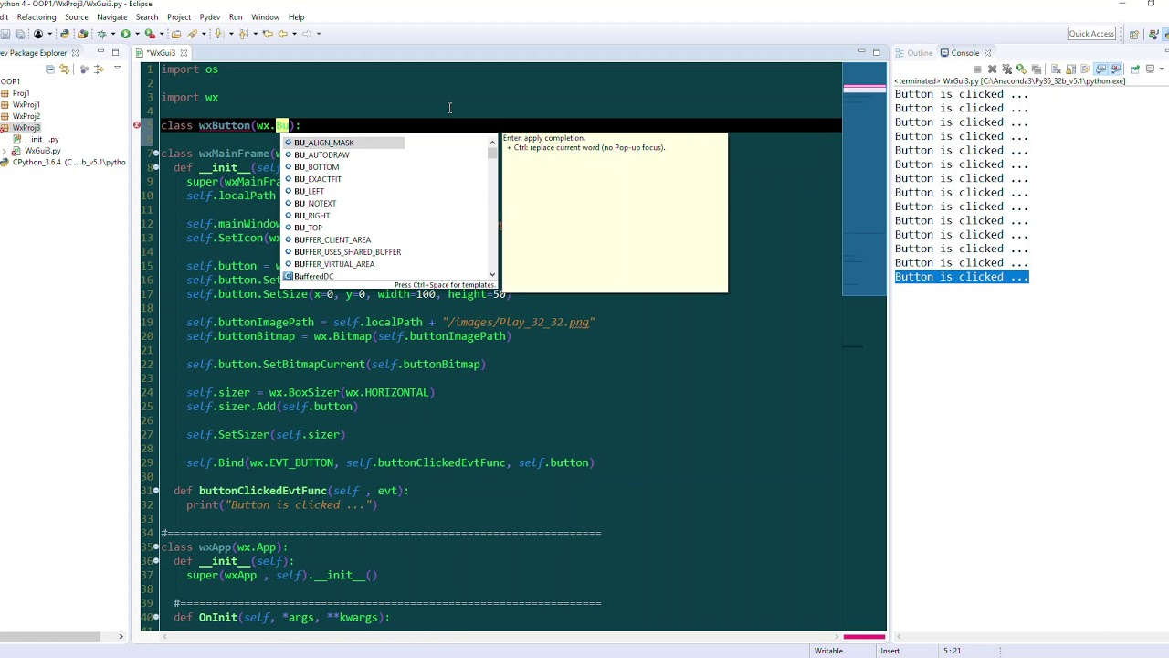 WxPython Tutorial 8 Multi Widgets Instance Creation And Placement