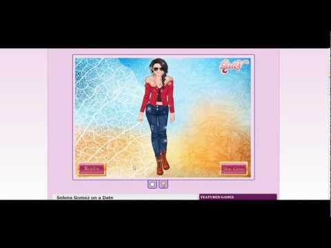Selena Gomez on a date Dress up Game