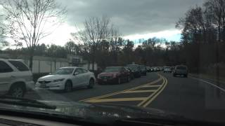 Cumberland Farms Gas Line in Wayne NJ (11/3/12)