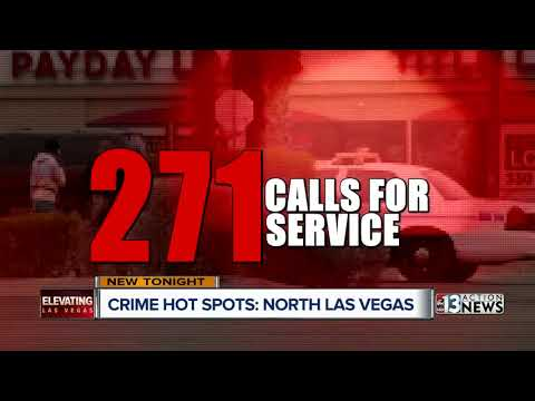Top 10 crime hot spots in North Las Vegas