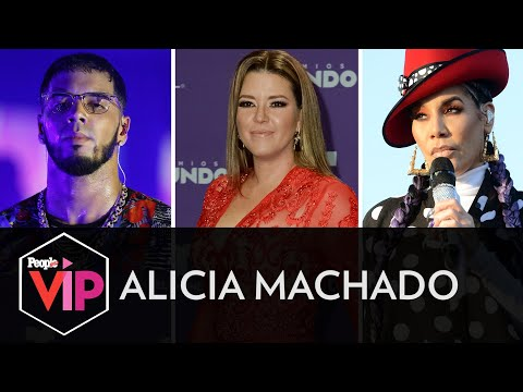 Alicia Machado Opina Sobre La Controversia Entre Anuel AA E Ivy Queen