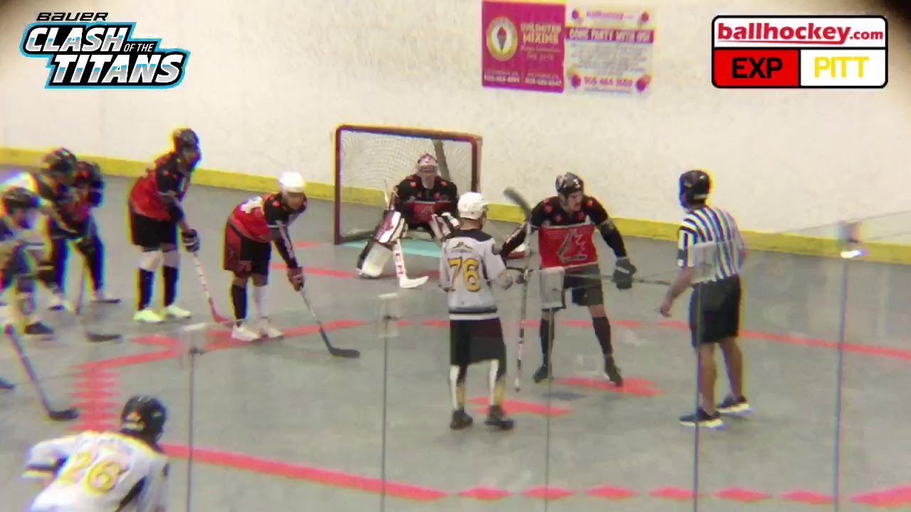 Clash of the Titans — ballhockey com