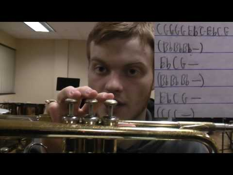 How to Play That's What I Like on Trumpet
