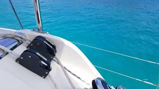 BVI - Moorings 3900 Boat Tour