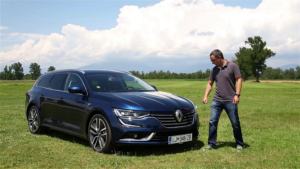 2016 renault talisman grandtour dci 160 energy edc zen test youtube. Black Bedroom Furniture Sets. Home Design Ideas