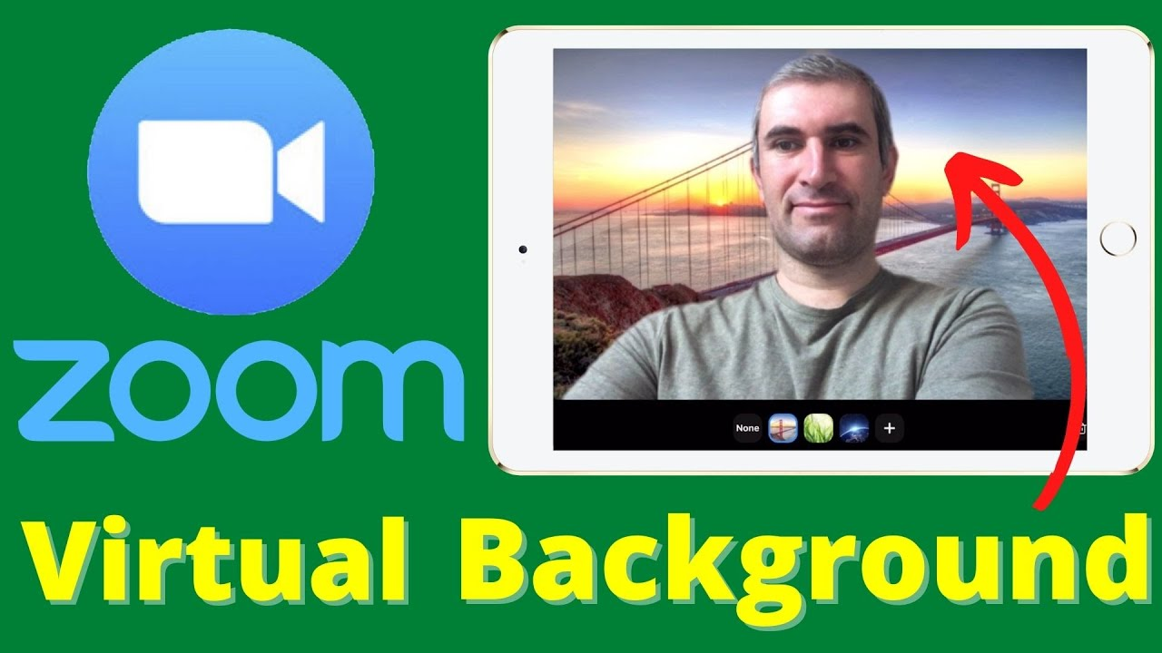 How To Change Zoom Background On Ipad Before Meeting Youtube