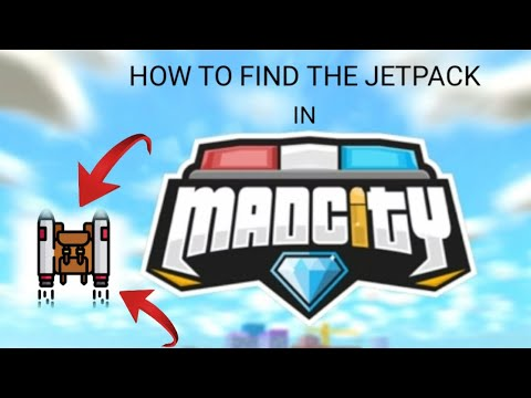 How To Get Jetpack In Roblox Mad City   StrucidCodes.com