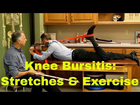 Knee Bursitis Stretches & Exercises (Pes Anserine, Suprapatellar, Prepatellar, Infrapatellar)