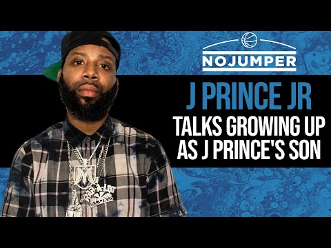 J Prince Jr Talks Growing Up As J Prince's Son