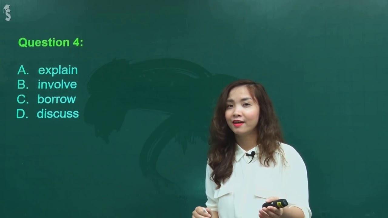Hướng dẫn giải chi tiết Đề thi chính thức THPT QG 2018 môn Anh – cô Hoàng Xuân