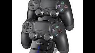 UNBOXING OF THE PS4 DUAL CONTROLLER CHARGER BY INSIGNIA