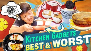 BEST & WORST Kitchen Gadgets! Trying AMAZON Kitchen Gadgets to See if They Work
