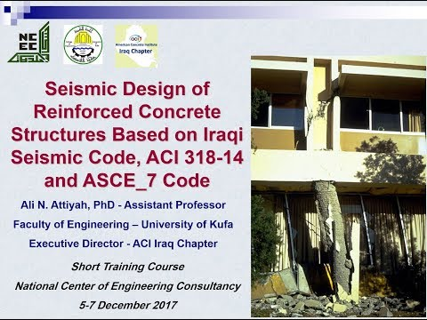 Seismic Design at NCEC Lecture 1