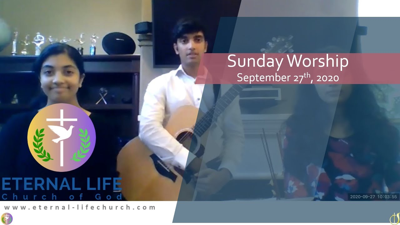 Sunday 9/27/20 - Worship Set