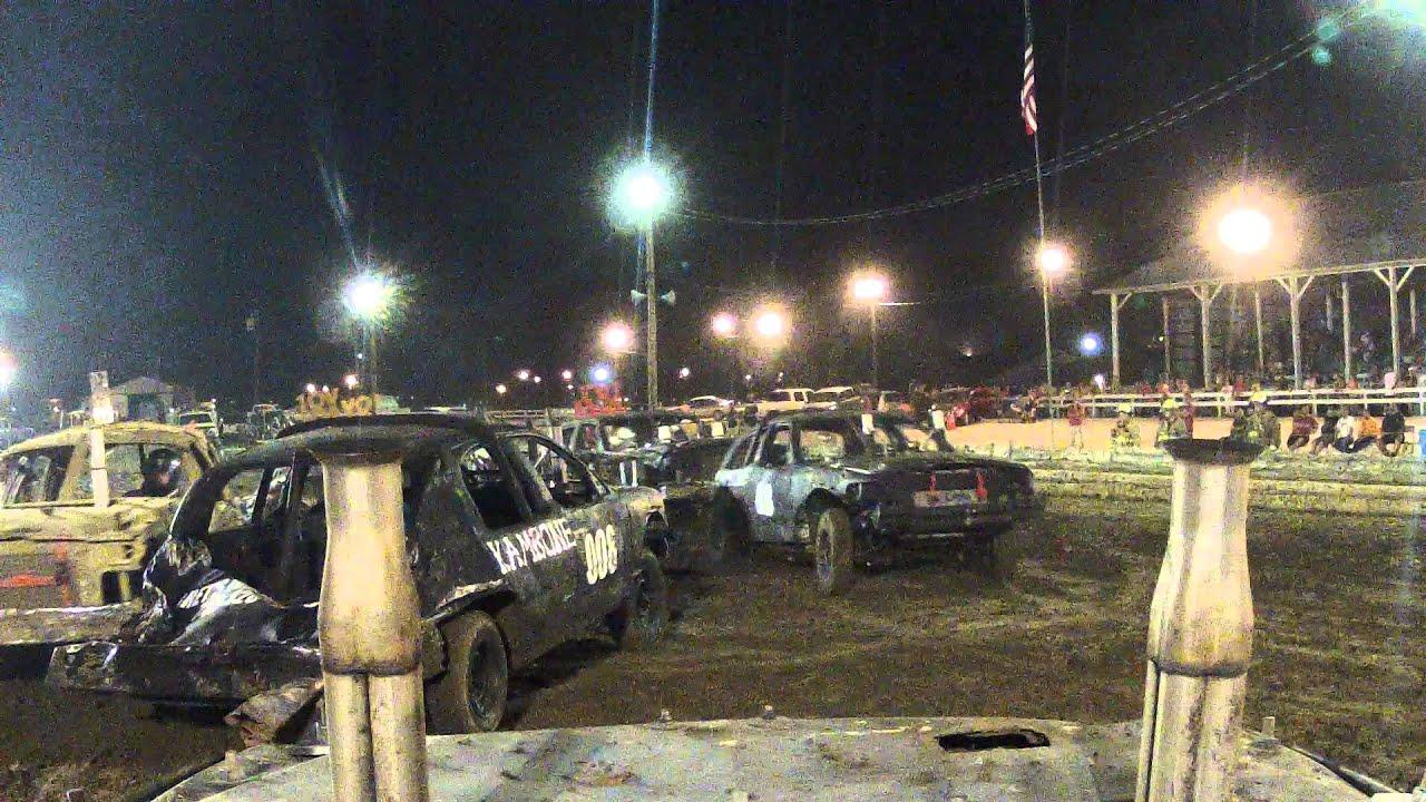Demolition derby washington courthouse ohio