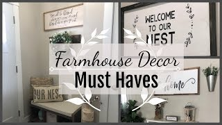 FARMHOUSE Decor | Must Have Items