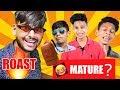 MATURE BOY Funny ROAST | MATURE BAG MEME | Vaibhav Vora | Somebodyma