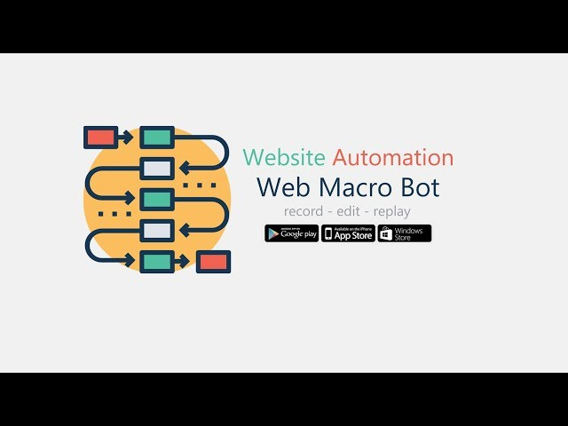 Record and replay website events | Web Macro Bot