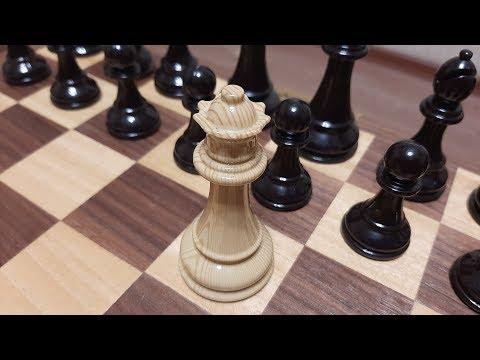 Шахматы. Ферзь за 3 хода ставит мат. Быстрый мат. Обучение шахматам.